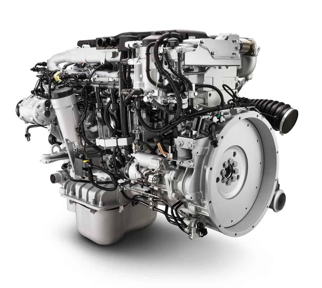 Il motore MAN D0836 eroga potenze da 250 a 340 CV