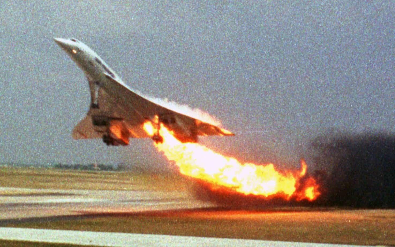 L'incidente del Concorde a Paris Charles de Gaulle