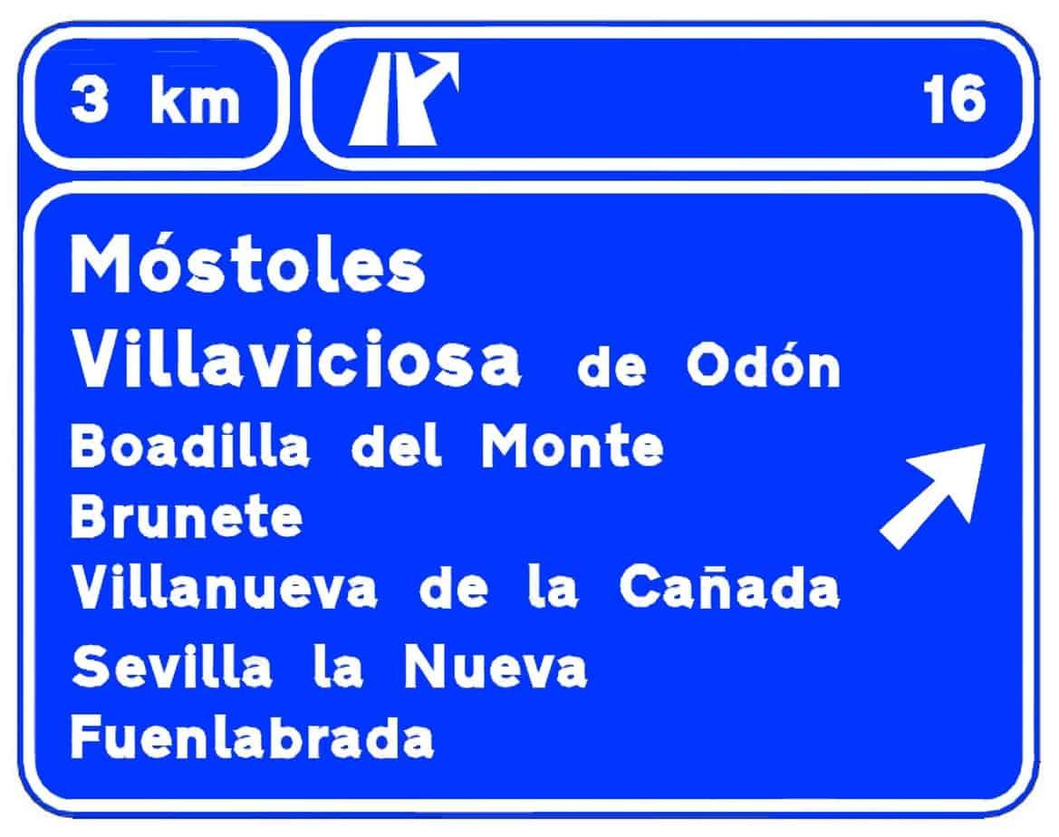 Le targhe di itinerario identificano un maggior numero di località raggiungibili