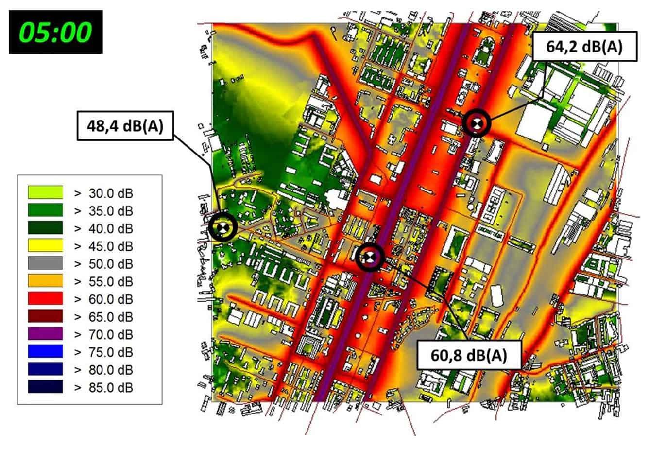 La mappa globale tipo generata dal Sistema Dynamap