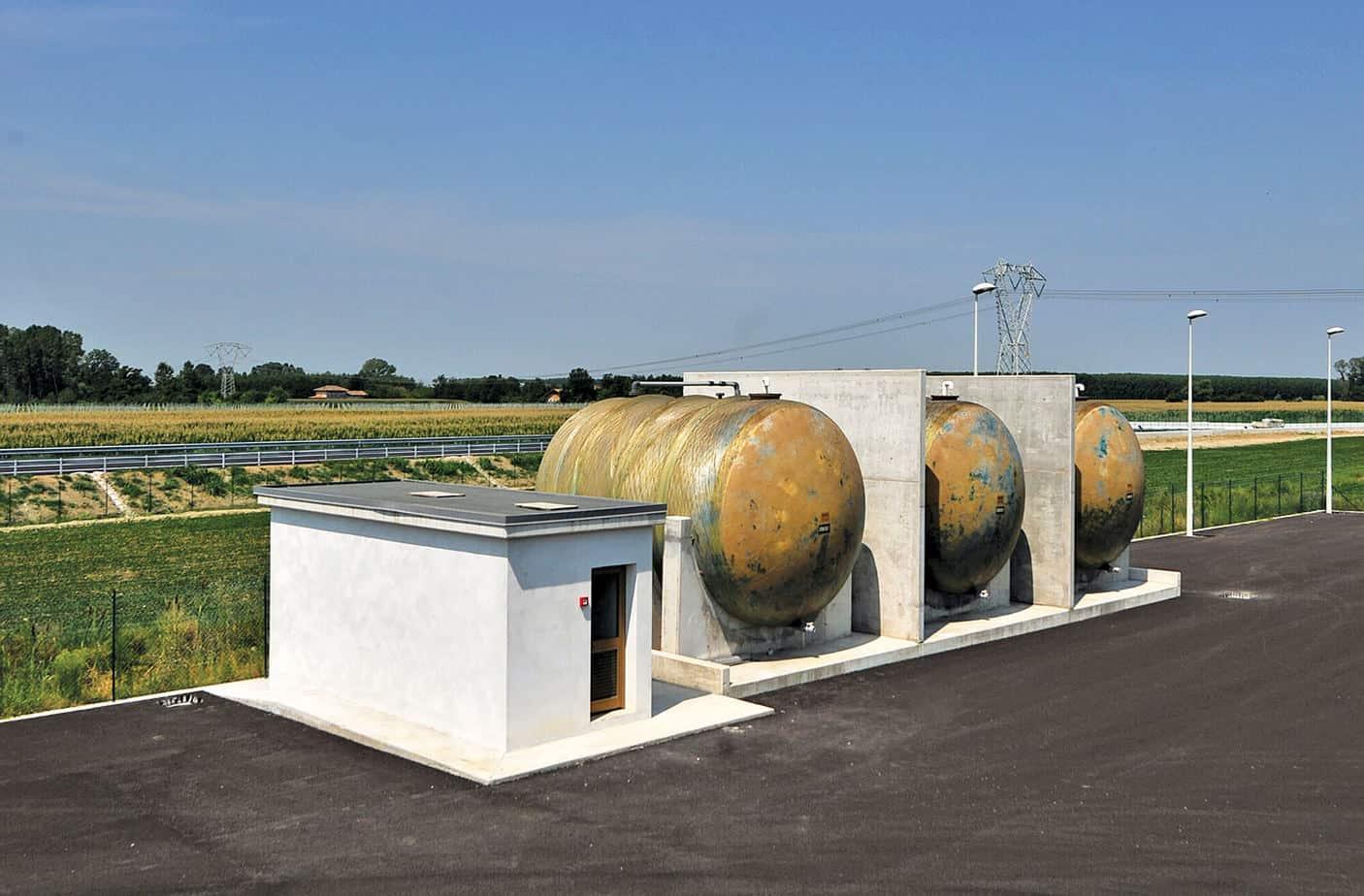 Le cisterne di accumulo liquidi inquinanti