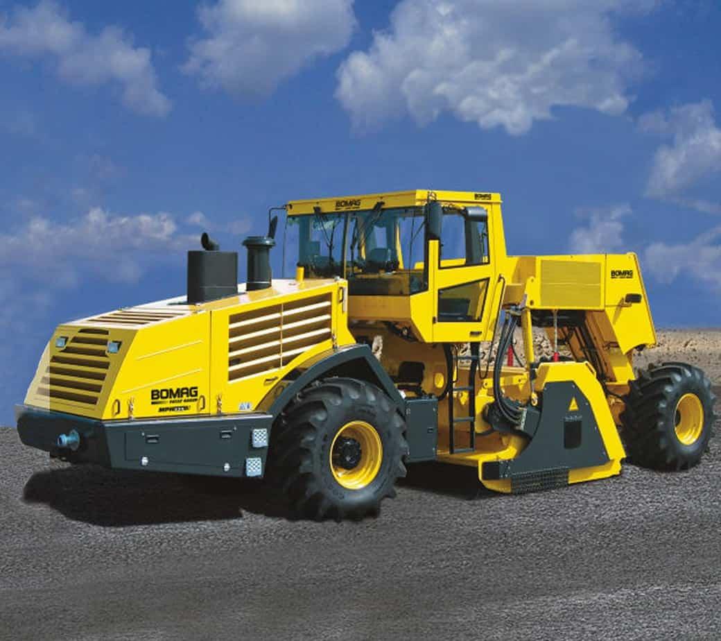 La nuova stabilizzatrice/riciclatrice MPH 125