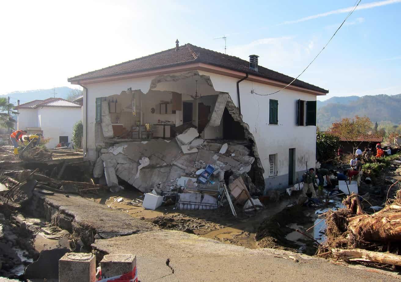 La violenta ondata di maltempo che ha colpito la Toscana