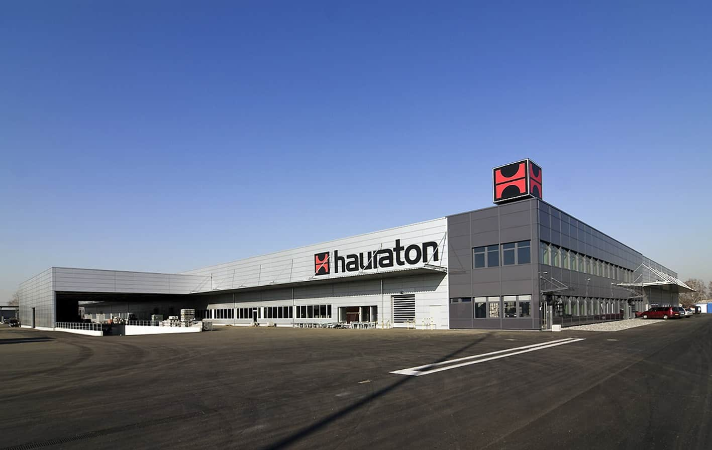 Lo stabilimento di Hauraton GmbH a Ötigheim (Germania)