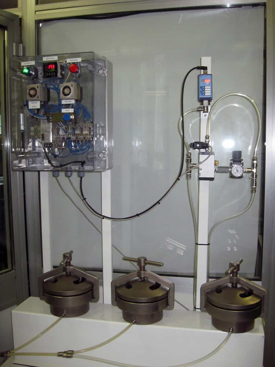 La prova di tenuta idraulica dopo la compattazione
