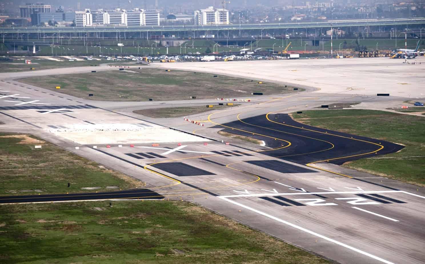 La riqualifica della pista di volo in Testata 22 (progetto esecutivo) nella Tabella 3