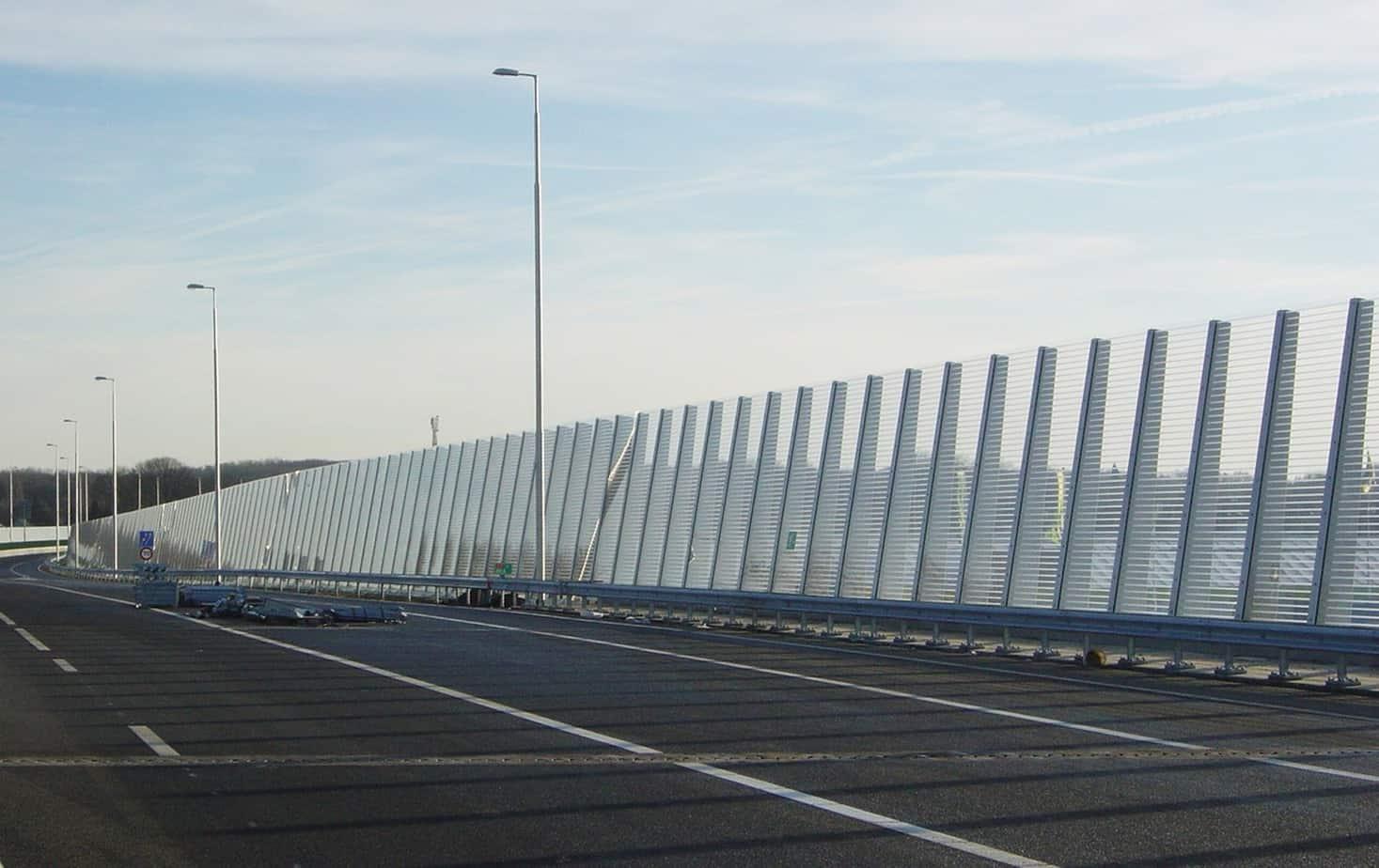 Una barriera antirumore tradizionale