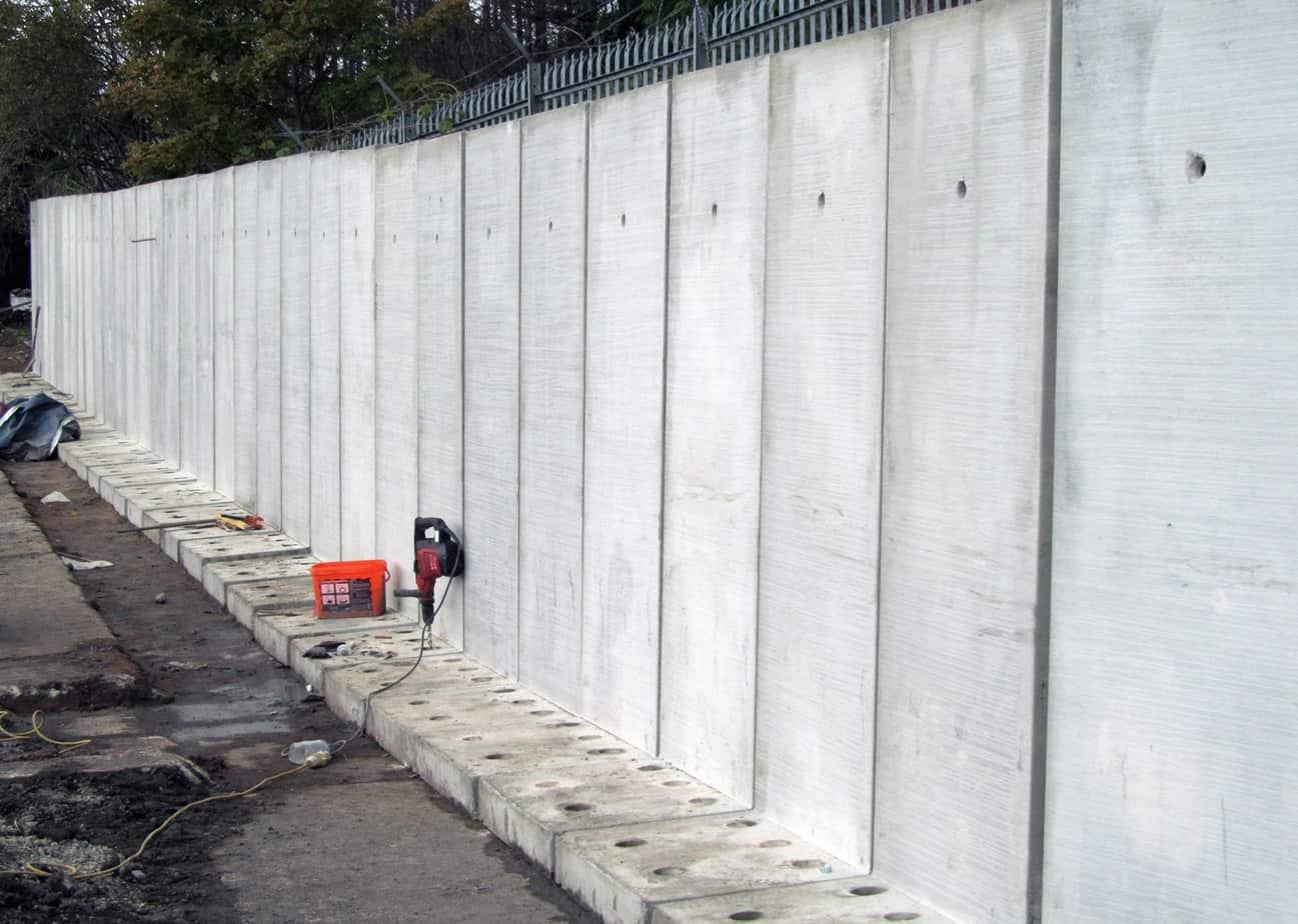 Esempi di muri di sostegno prefabbricati