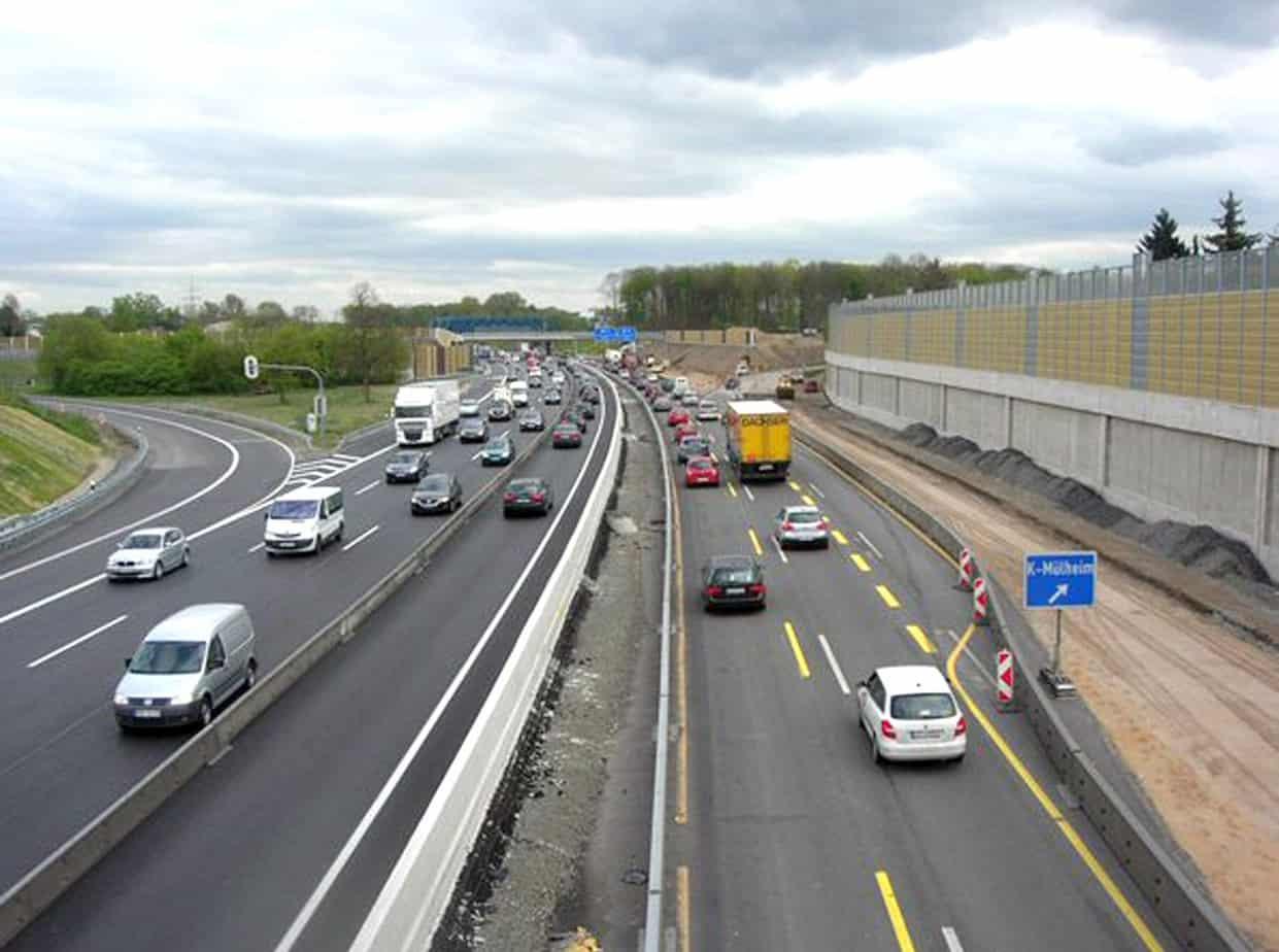 I lavori di adeguamento della A2 iniziati nell'anno 2012