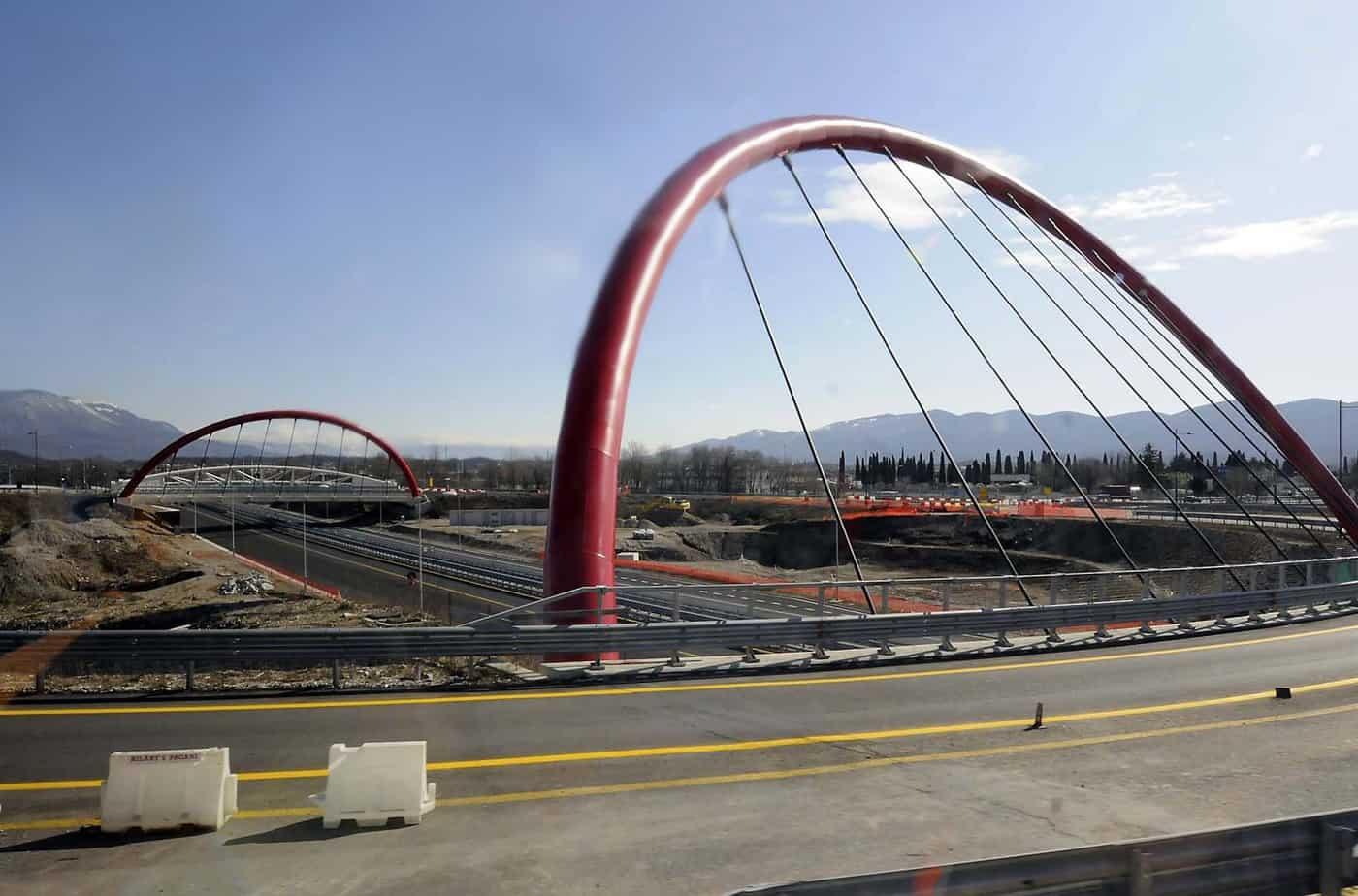 La rotonda di Sant'Andrea all'ingresso di Gorizia