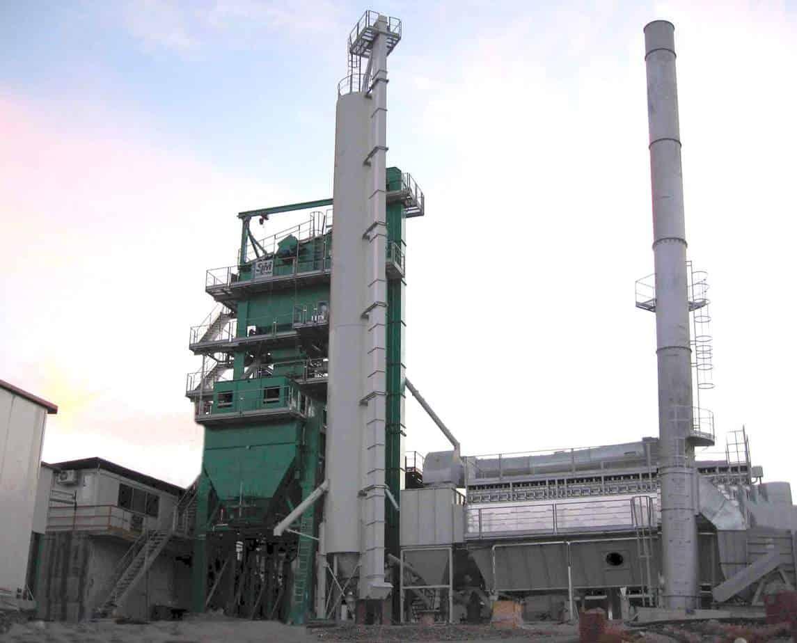 L'impianto Ammann SIM CB280