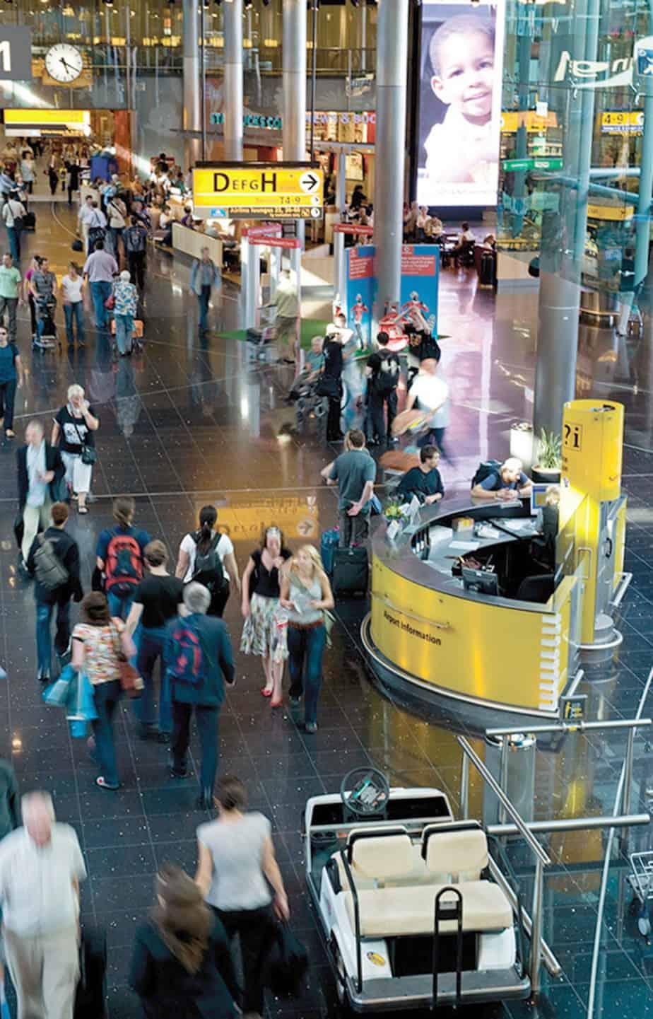 L'aeroporto di Amsterdam Schiphol