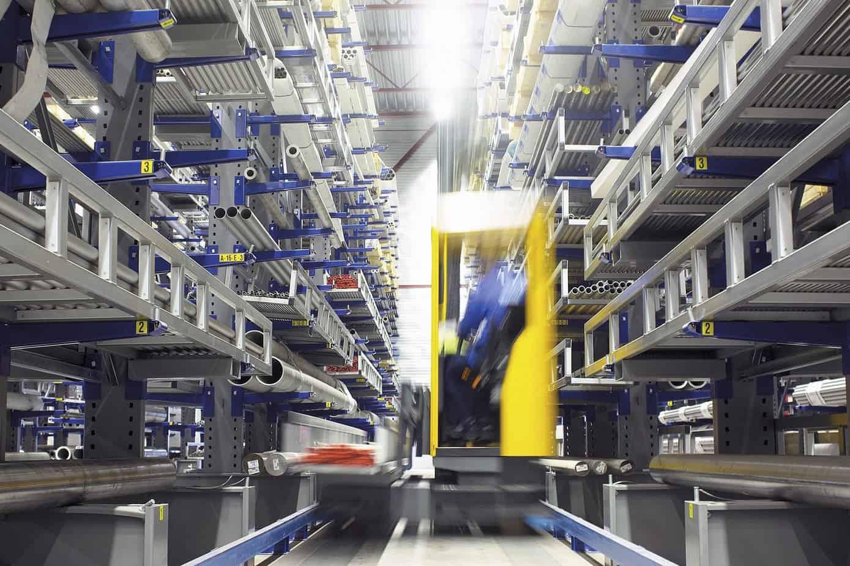 Sistemi di automazione per lo stoccaggio