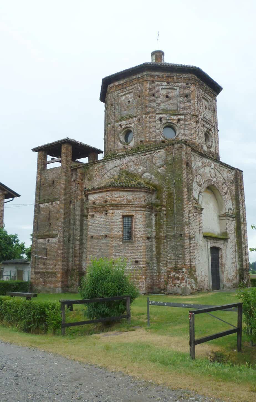 La chiesa di Rossate