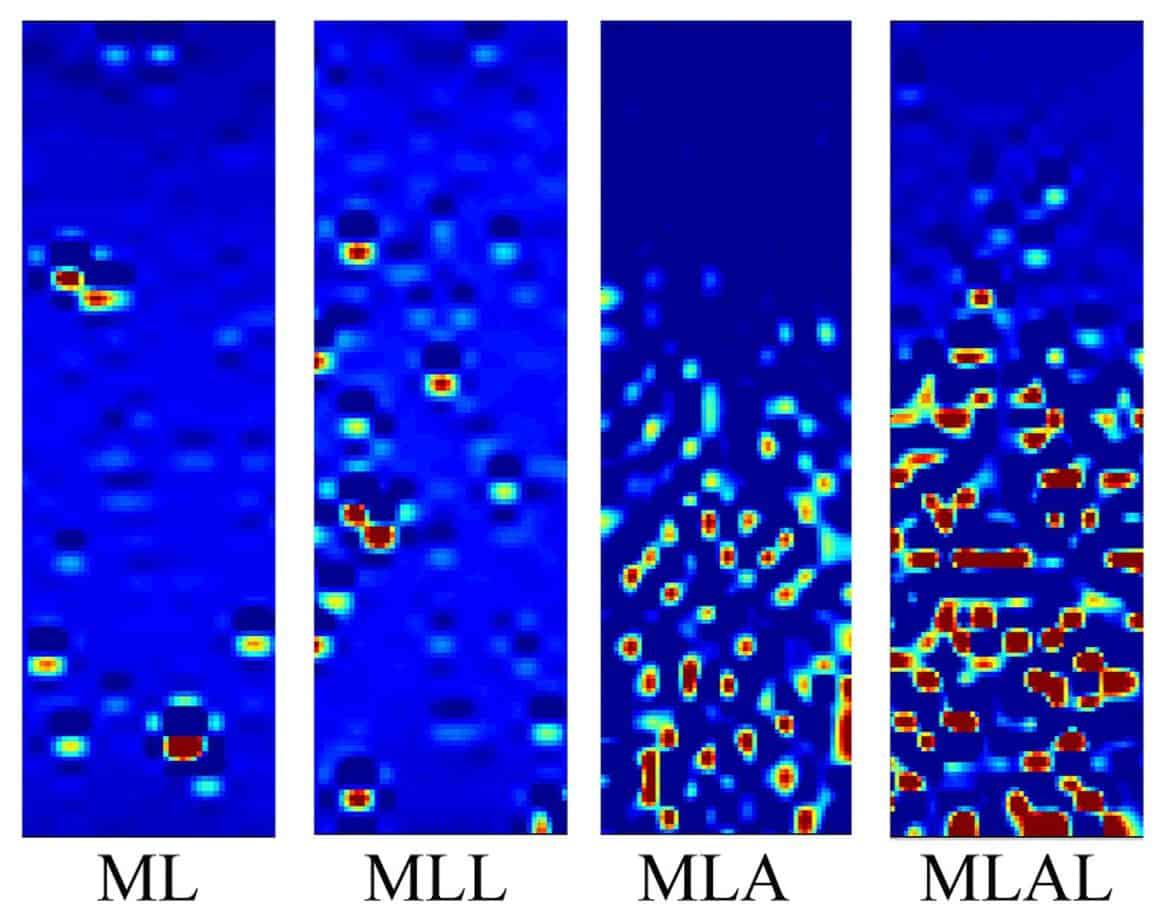 Le mappe di deformazione di mastici contenenti ML