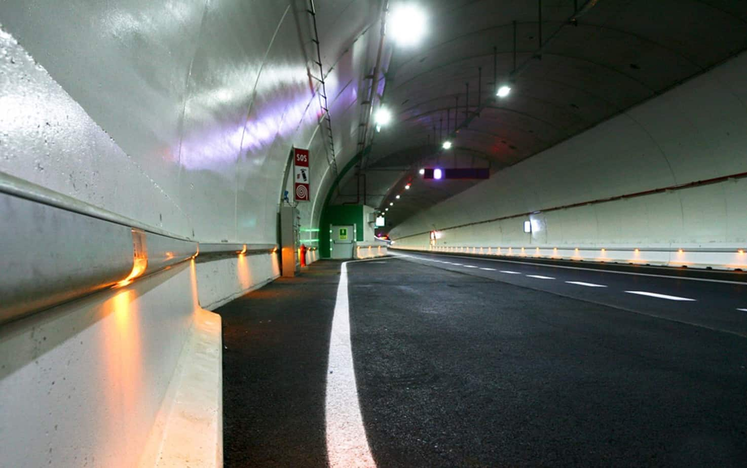 I LED incorporati nei profili redirettivi