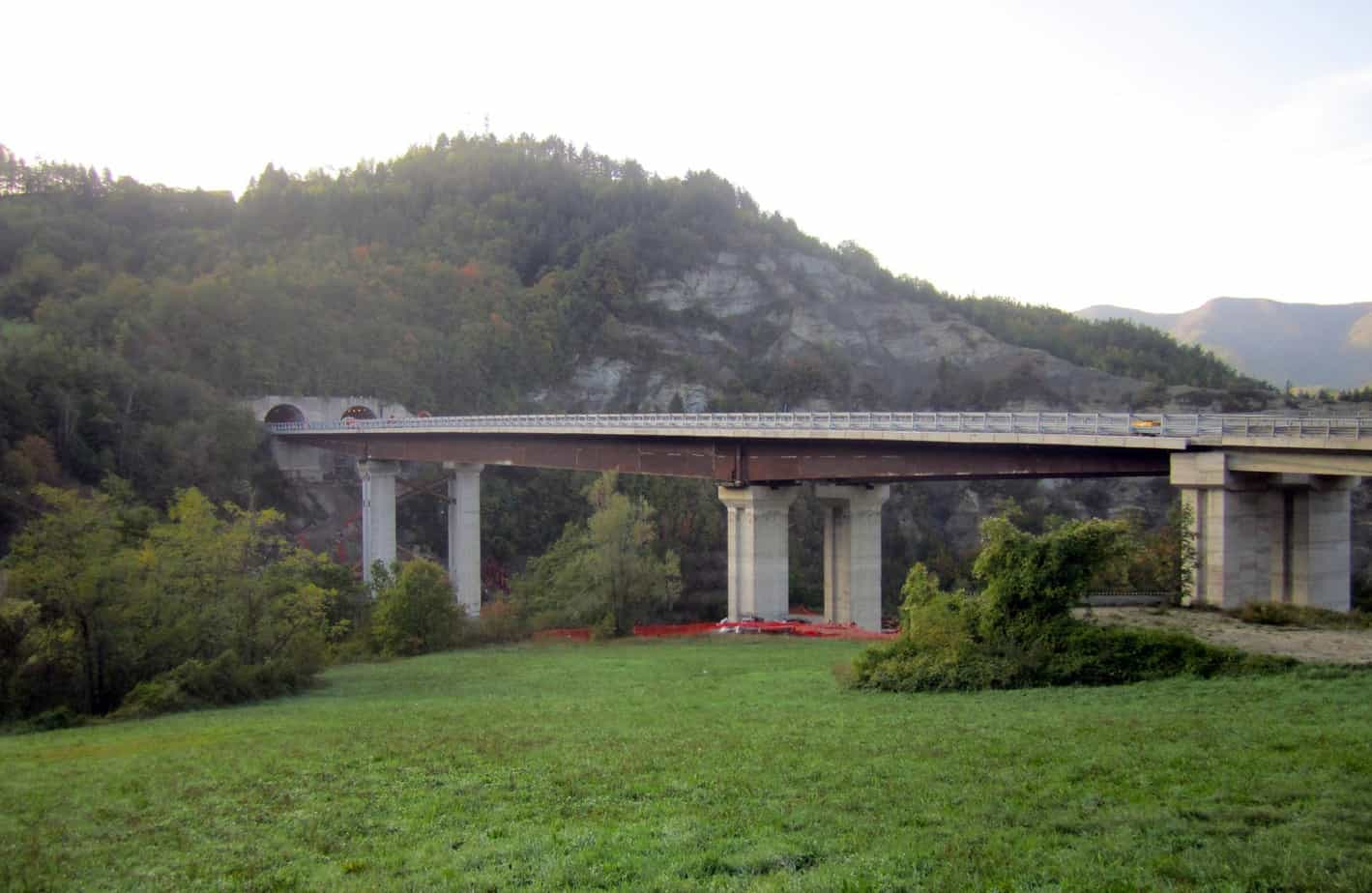 Il viadotto Fornello