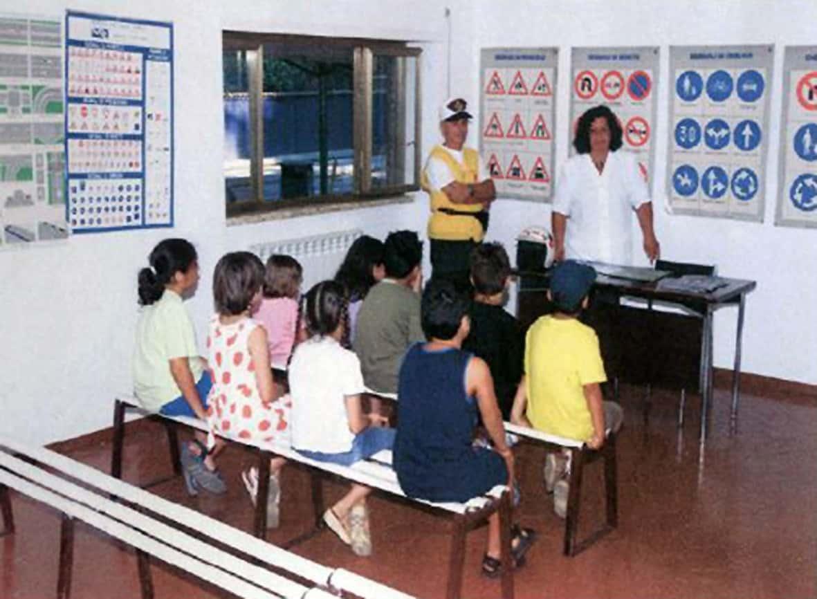 L'esempio di una scuola guida per piccoli
