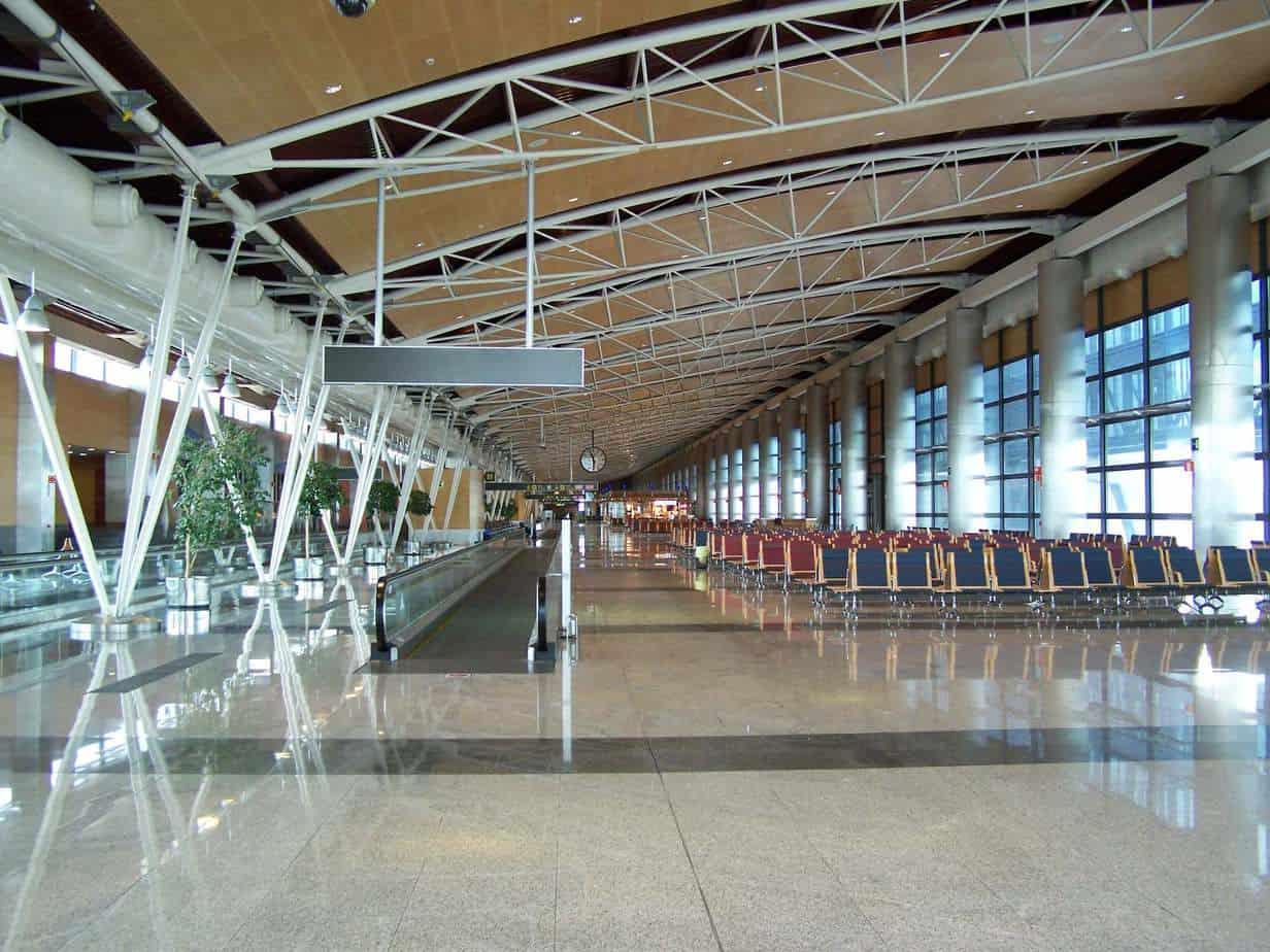 Il terminal 1 dell'aeroporto di Madrid-Barajas