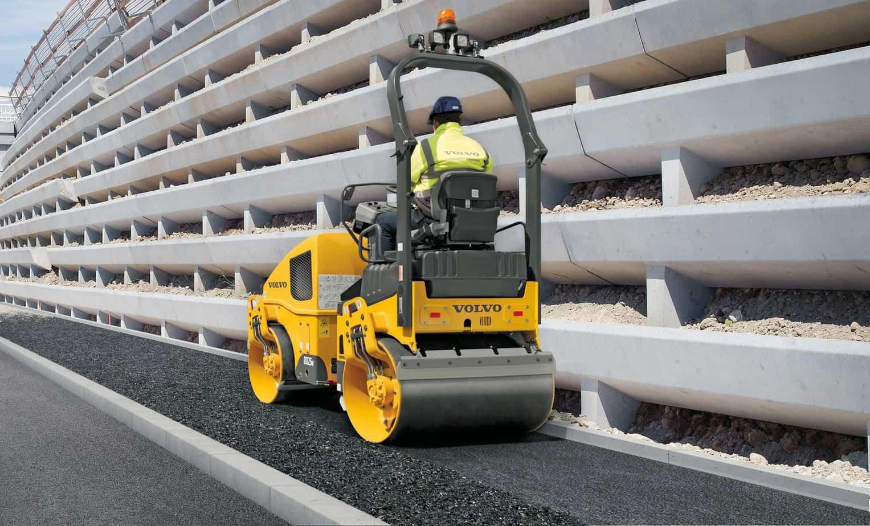 Una perfetta levigatezza e densità della superficie anche con diverse mescole di asfalto
