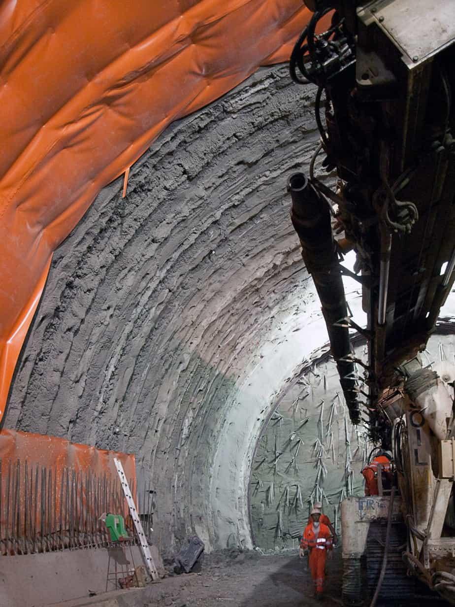La variante proposta per la galleria Cavallo Sud, unitamente alla tecnica innovativa del jet-grouting ad alta efficienza con sistema ETJ, ha raggiunto gli obiettivi prefissati
