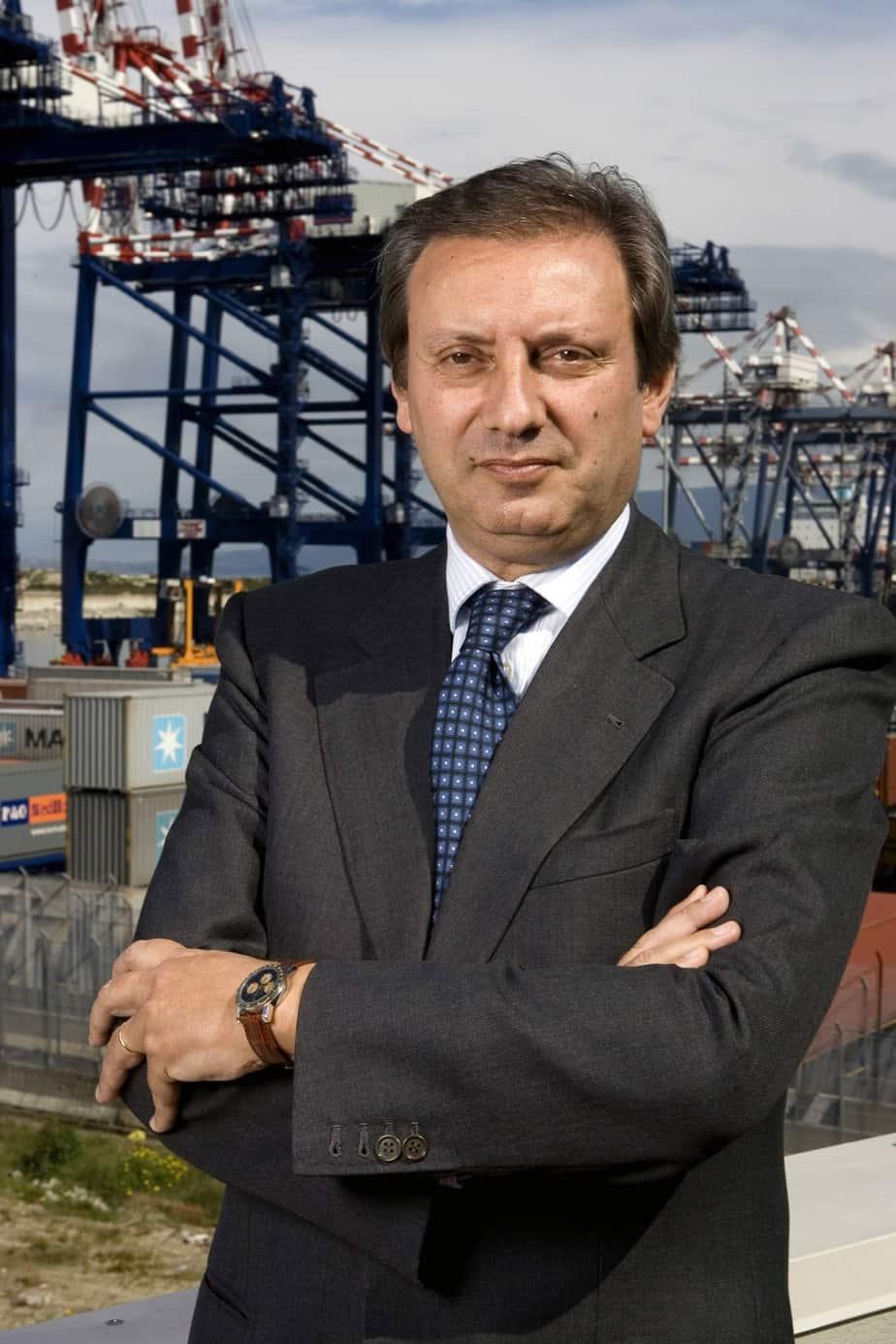 Giovanni Grimaldi, Presidente dell'Autorità Portuale di Gioia Tauro