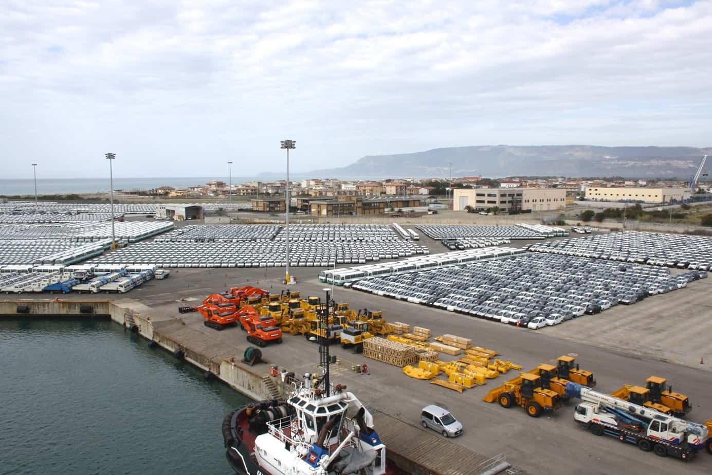 Il terminal automobilistico ha movimentato, nel 2013, oltre 200.000 veicoli