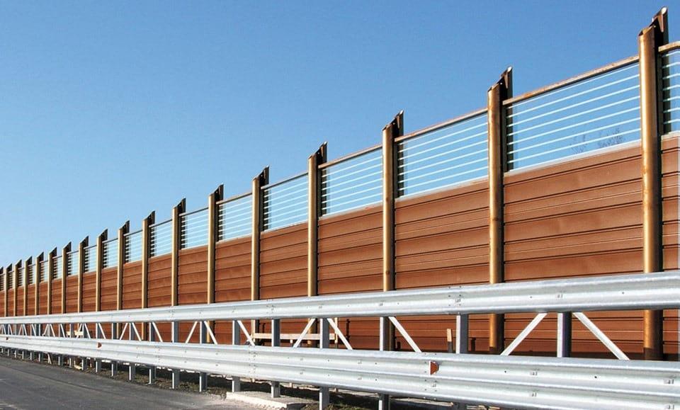 Infrastrutture di trasporto sostenibili: le barriere antirumore