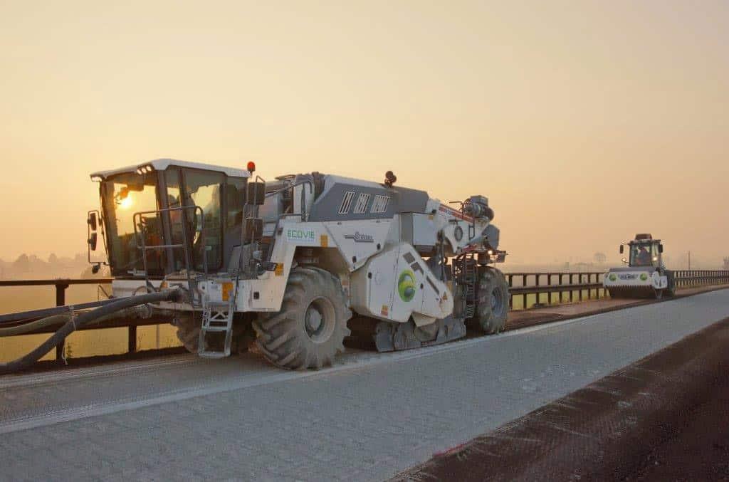 Il lavoro eseguito sulla Modena-Brennero fa parte di una serie di interventi di manutenzione straordinaria destinati a migliorare le condizioni di portanza dello strato di base