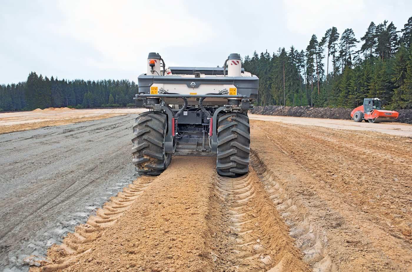 Le nuove motorizzazioni offrono una potenza adeguata anche durante i passaggi di stabilizzazione più impegnativi in cui si arriva alla massima profondità