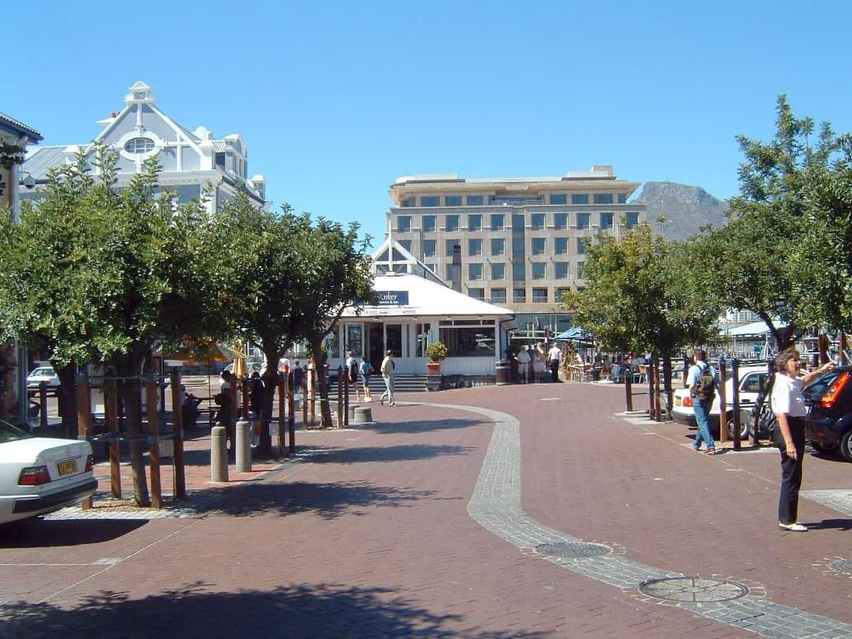 L'itinerario perdonale è contrassegnato dal fondo del percorso (nella foto: Cape Town)