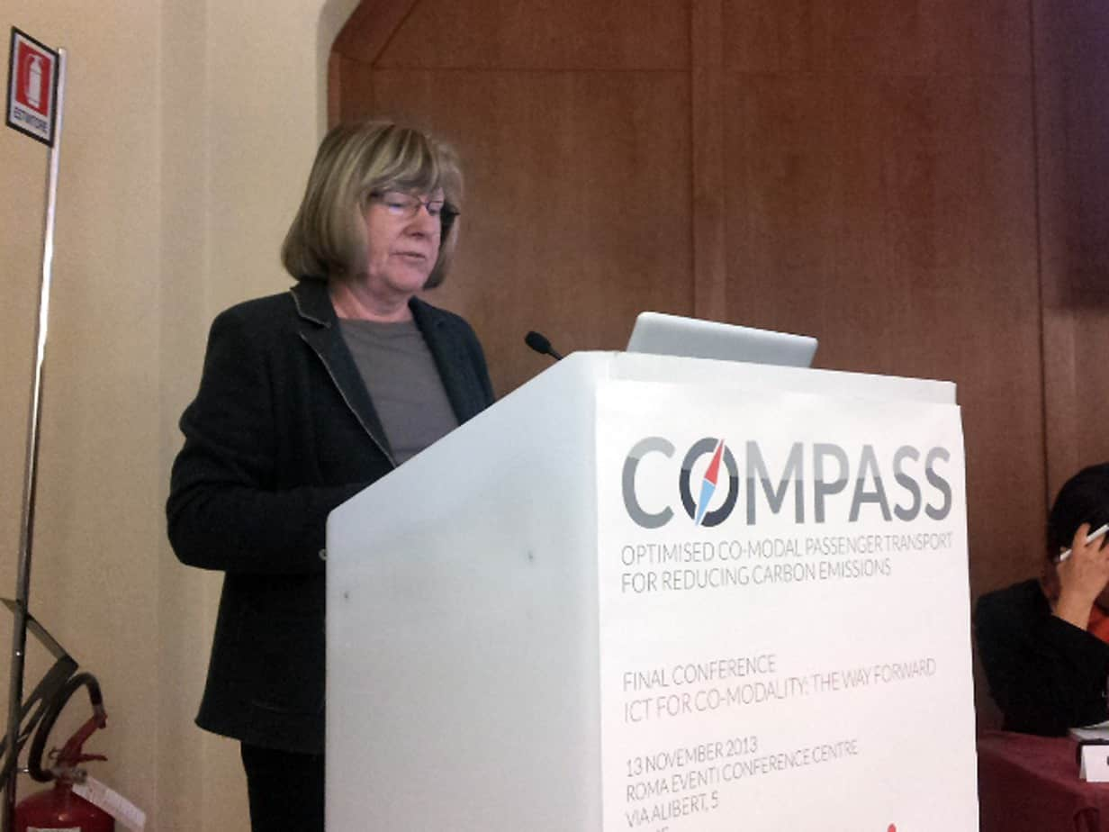 Christiane Bielefeldt, Coordinatrice del progetto COMPASS