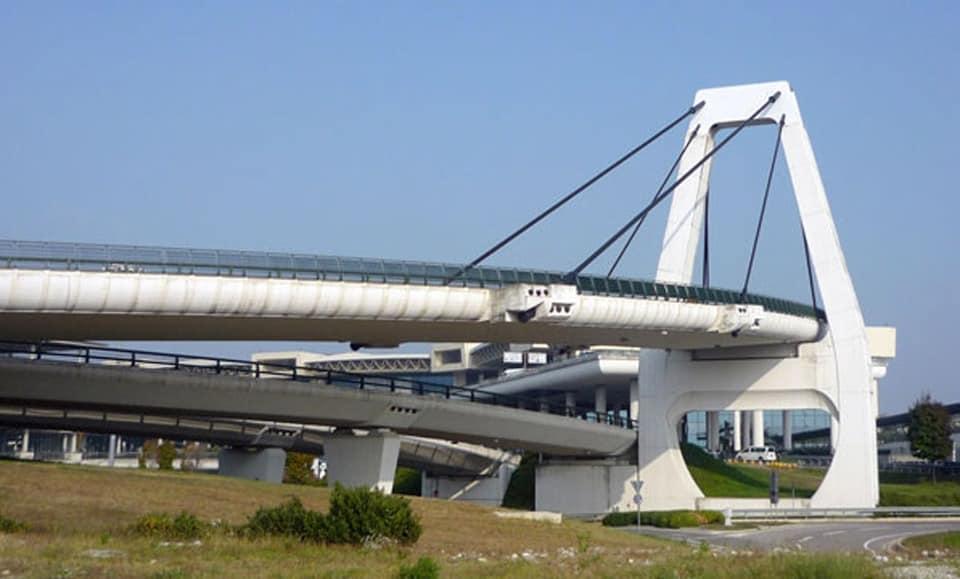 Ispezione e manutenzione dei ponti strallati di Malpensa - Prima parte