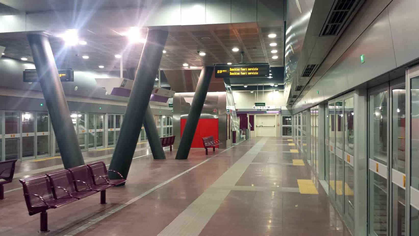 La stazione Garibaldi