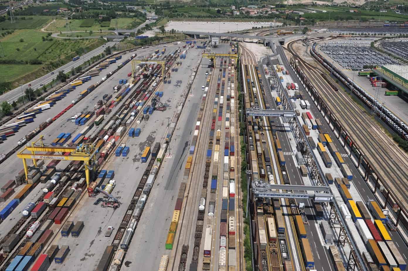 Il terminal dei trasporti combinati