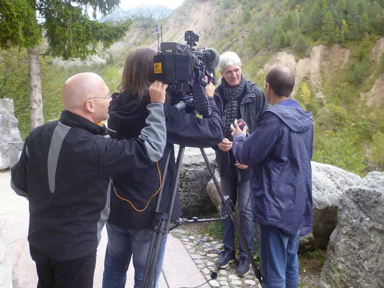 Un'intervista sulla diga del Vajont