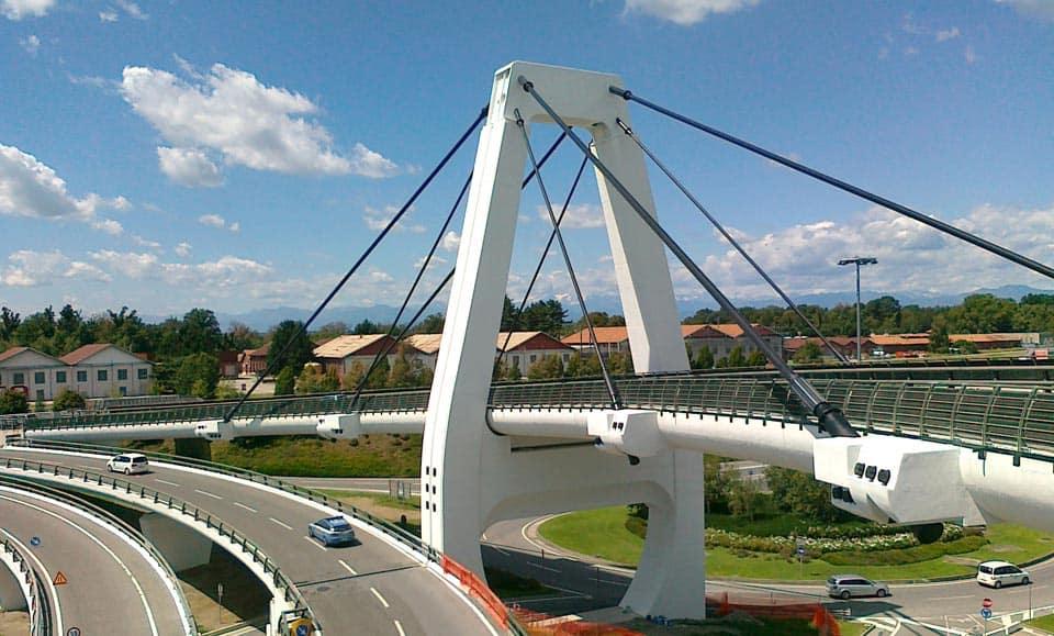 Ispezione e manutenzione dei ponti strallati di Malpensa - Seconda parte