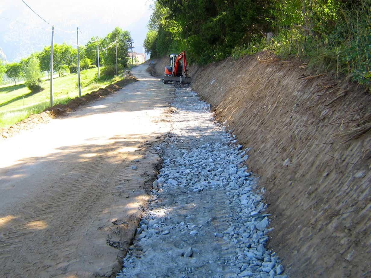 La ricostituzione della fondazione stradale