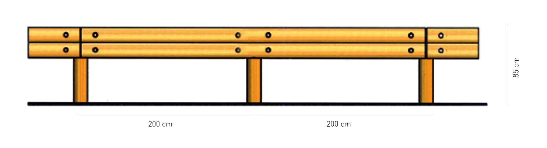 Lo schema delle T40 Bordo Laterale