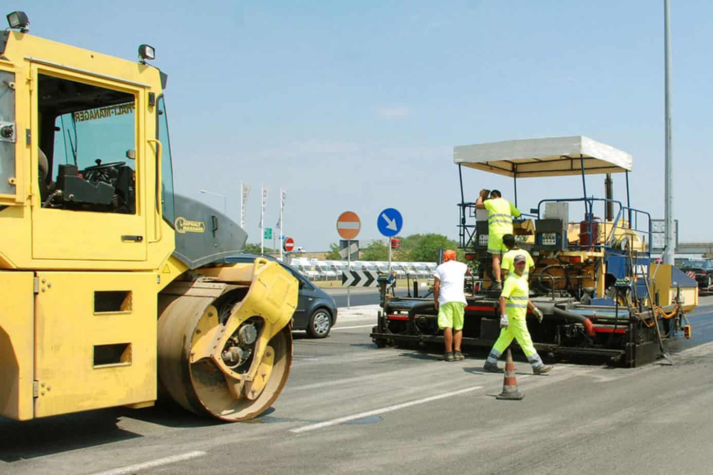 Lavori sull'Autostrada Piacenza-Cremona-Brescia