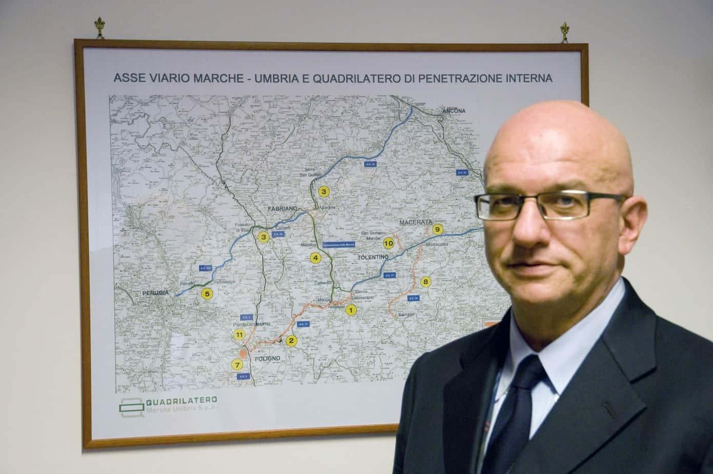 Eutimio Mucilli, Amministratore Delegato di Quadrilatero Marche-Umbria SpA