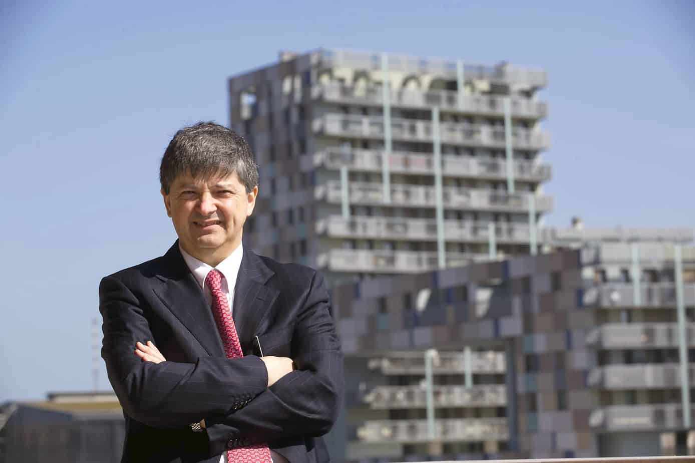 L'Ing. Galliano Di Marco, Presidente dell'Autorità Portuale di Ravenna