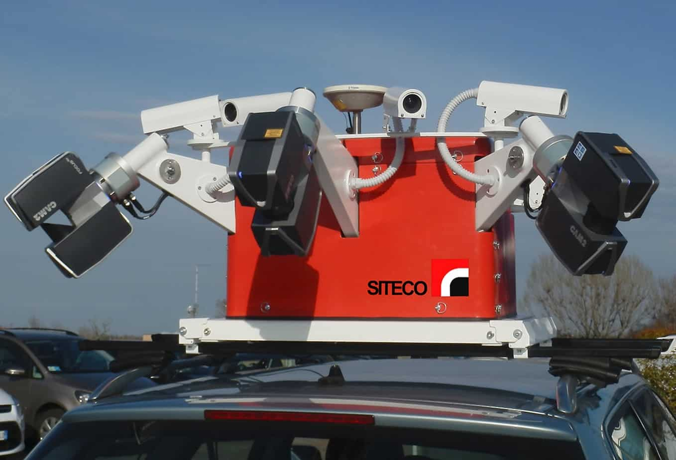 Il mobile mapping system Road-Scanner