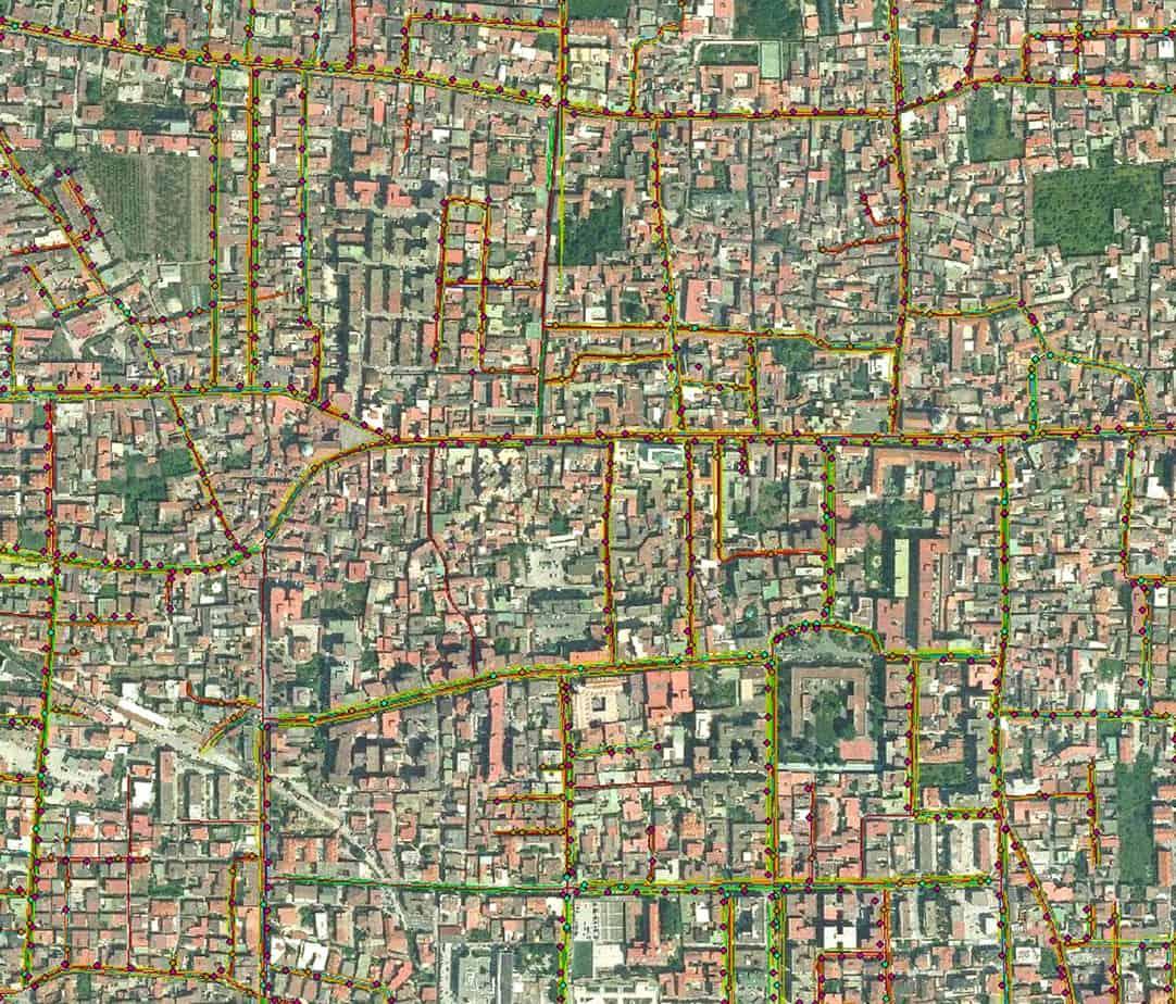 Ortofoto e pertinenze stradali del Catasto Strade