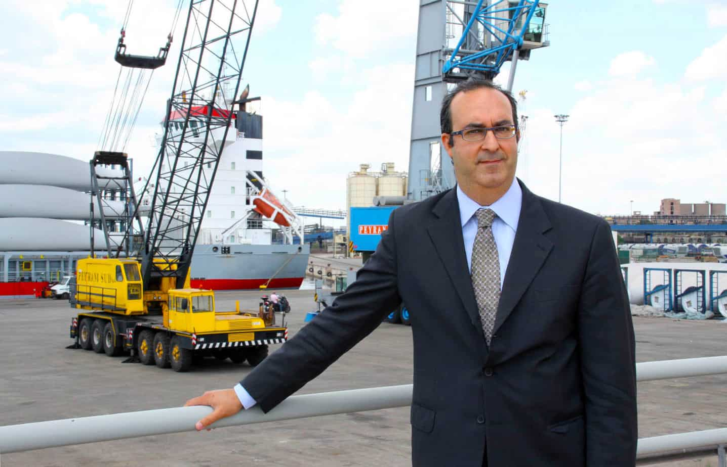 Il Prof. Avv. Sergio Prete, Presidente dell'Autorità Portuale e Commissario Straordinario del porto di Taranto