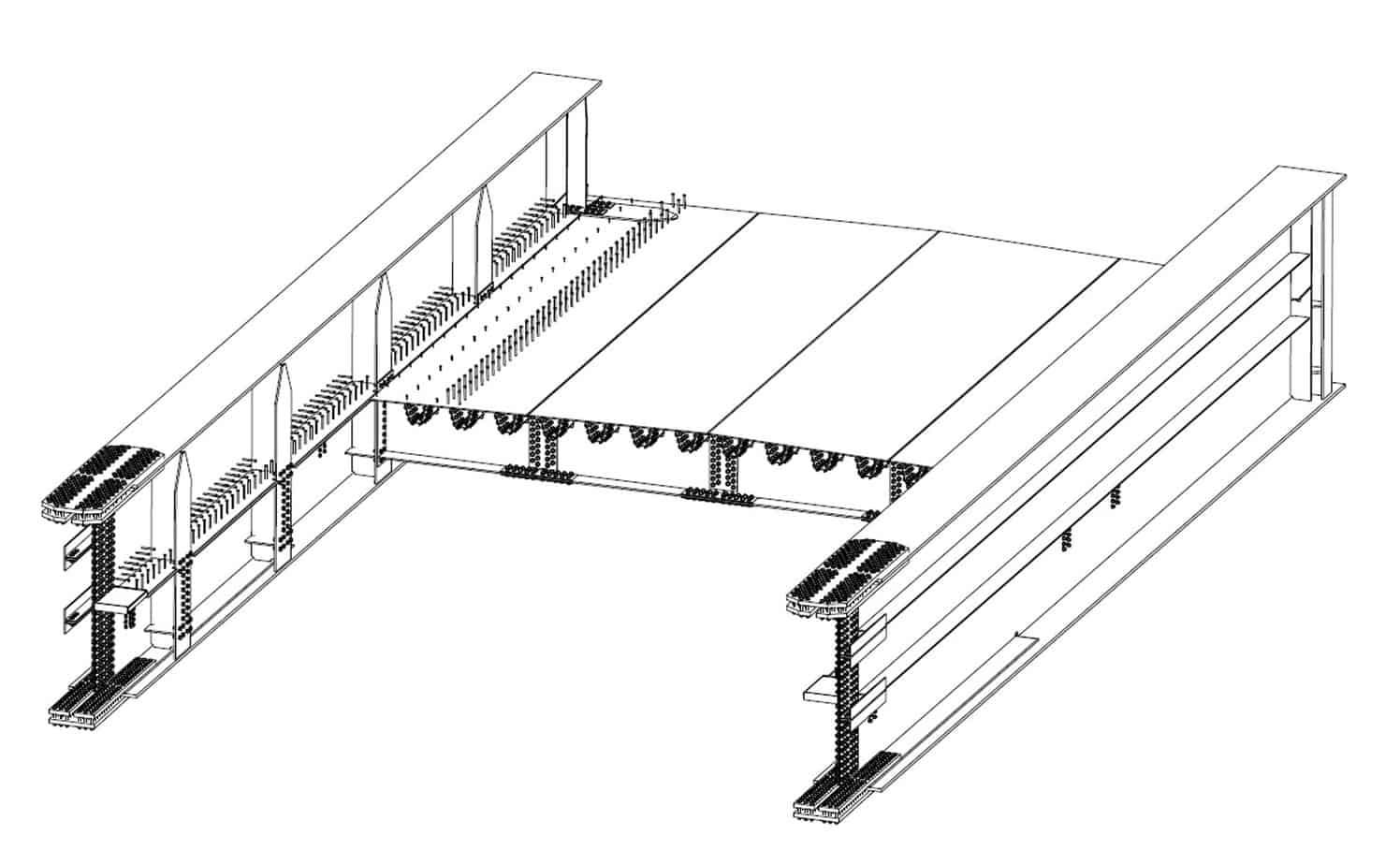 I modelli tridimensionali di progetto: l'impalcato completo