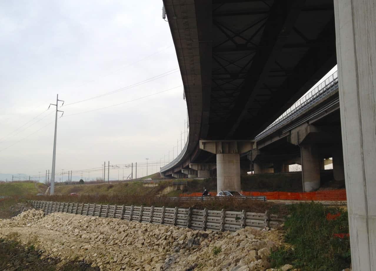 Il viadotto Cerroncino