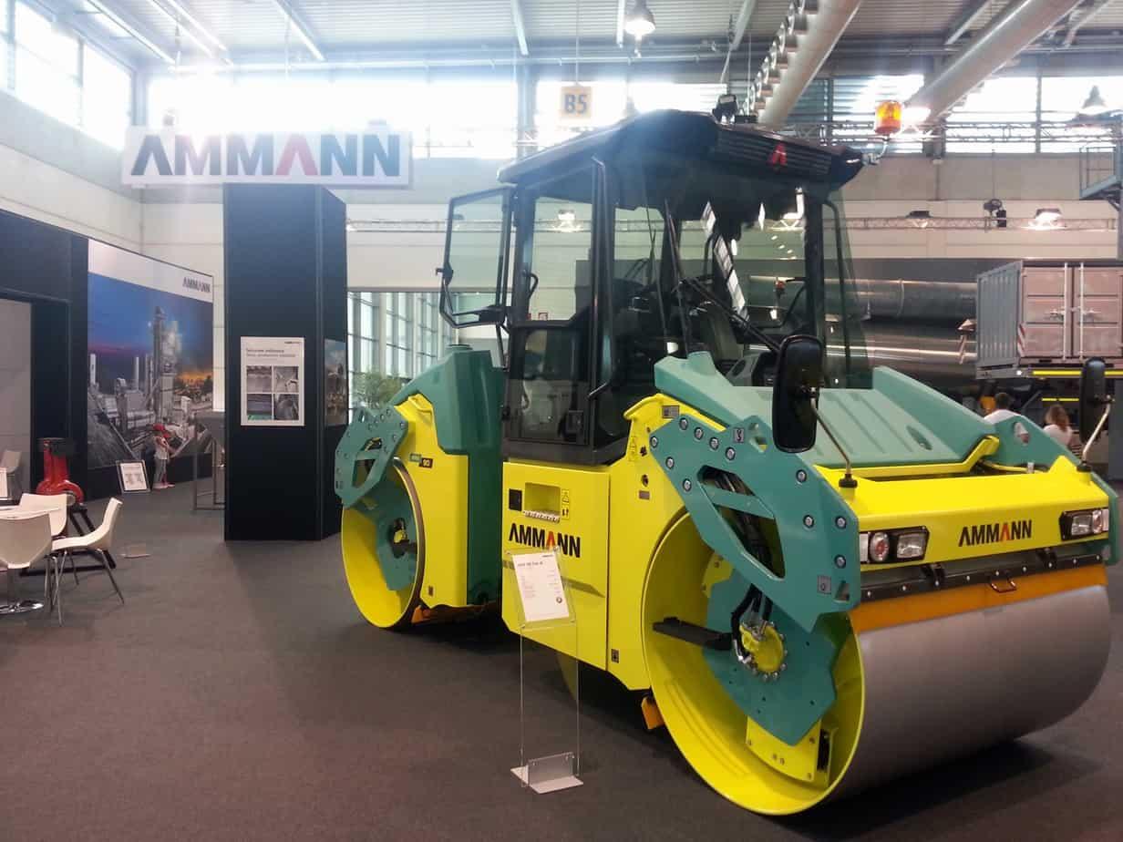 L'ARX 90 di Ammann presentato ad ASPHALTICA 2014
