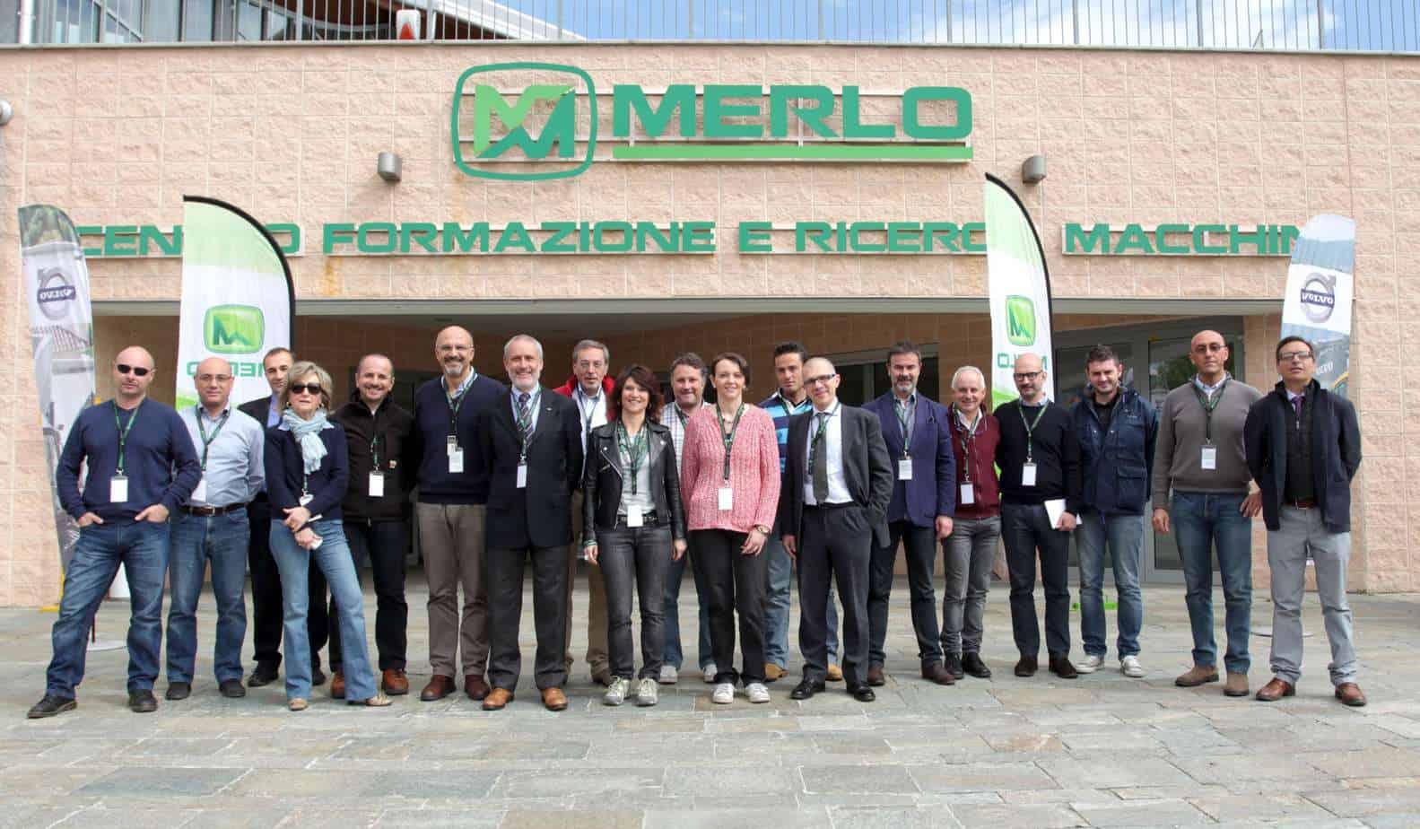 Il gruppo di Giornalisti delle Testate specializzate durante il Corso di formazione il giorno 29 Aprile scorso