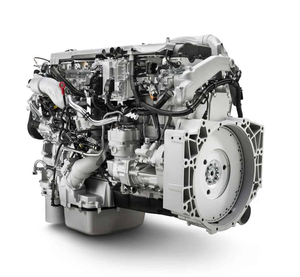 Il motore MAN D2676 eroga potenze da 440 a 480 CV